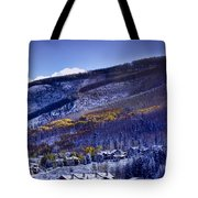 Vail Sunrise Tote Bag