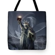 Light Of Liberty Tote Bag