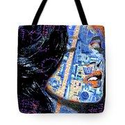 Vain Portrait Of A Woman Tote Bag