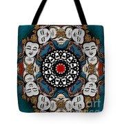 Vajrasattva Mandala Yantra Tote Bag