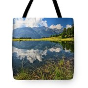 Val Di Sole - Covel Lake Tote Bag