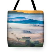 Val D'orcia Enchantment Tote Bag by Inge Johnsson