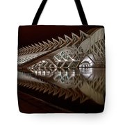 Valencia Art And Science Building Tote Bag