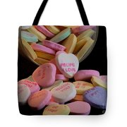 Valentine Candy 5 Tote Bag