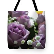 Valentine Purple Tote Bag