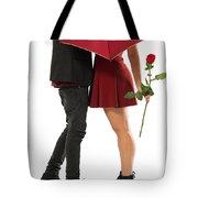Valentines Couple Tote Bag by Carlos Caetano