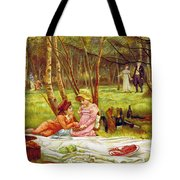 Valentines Day, 1883 Tote Bag