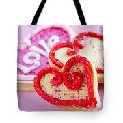 Valentines Hearts Tote Bag by Elena Elisseeva