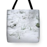 Valiantly Pushing Through Tote Bag