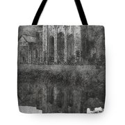 Valle Crucis Abbey Tote Bag