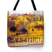 Valletta Capital Of Malta Tote Bag