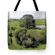 Valley At Hobbiton Nz Tote Bag