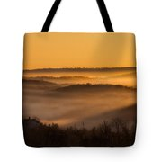 Valley Fog Tote Bag