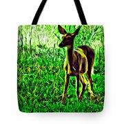 Valley Forge Deer Tote Bag