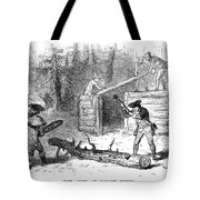 Valley Forge: Huts, 1777 Tote Bag