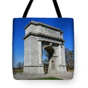 Valley Forge National Memorial Arch Tote Bag