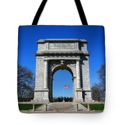 Valley Forge Park Memorial Arch Tote Bag