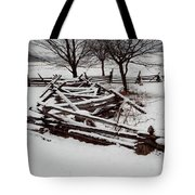 Valley Forge Snow Tote Bag
