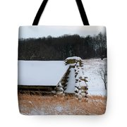 Valley Forge Winter 10 Tote Bag