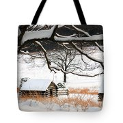Valley Forge Winter 4 Tote Bag