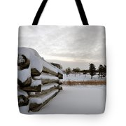 Valley Forge Winter 8 Tote Bag