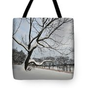 Valley Forge Winter 9 Tote Bag