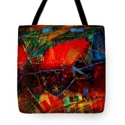 Valley  In  Provence Tote Bag