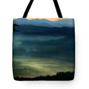 Valley In The Smokies Tote Bag