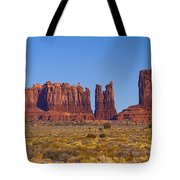 Valley Monuments  Tote Bag