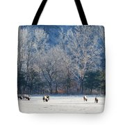 Valley Of Elk Tote Bag