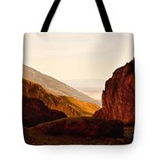 Valley Of Fire Morning Sun Tote Bag