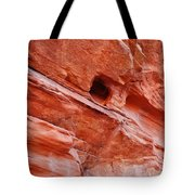 Valley Of Fire Mouse's Tank Sandstone Wall Tote Bag