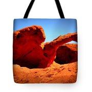 Valley Of Fire Nevada Desert Tote Bag