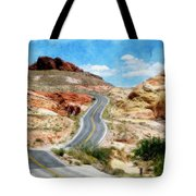 Valley Of Fire State Park Tote Bag