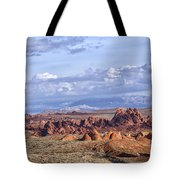 Valley Of Fire Vista Tote Bag
