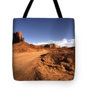 Valley Of Monuments  Tote Bag