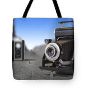 Valley Of The Fallen II Tote Bag by Mike McGlothlen