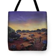Valley Of The Hedgehogs Tote Bag