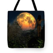 Valley Of The Moon... Tote Bag