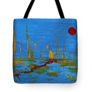 Valley Of The Red Moon Tote Bag