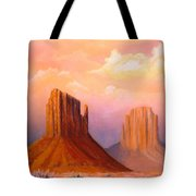 Valley Of The Rocks Tote Bag