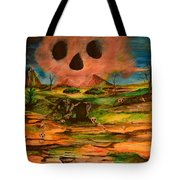 Valley Of The Skulls Tote Bag