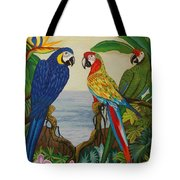 Valley Of The Wings Hand Embroidery Tote Bag