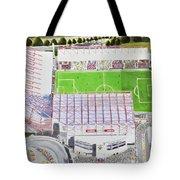 Valley Parade Stadia Art - Bradford City Fc Tote Bag