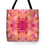 Valley Porcupine Abstract Tote Bag