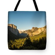 Valley Setting Tote Bag