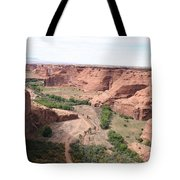 Canyon De Chelly Valley View   Tote Bag