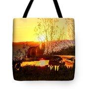 Valley View Horses Tote Bag