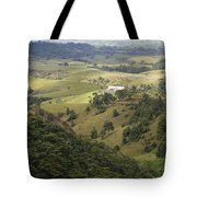 Valley View Of  Atherton Tableland Tote Bag