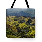 Valleys And Mountains Tote Bag